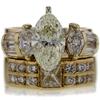 2.03 ct. Marquise Cut Bridal Set Ring #1