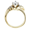 1.16 ct. Marquise Cut Solitaire Ring, G, SI2 #2