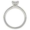 0.65 ct. Princess Cut Solitaire Ring, F-G, VS1 #4