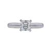 1.01 ct. Square Emerald Cut Solitaire Ring, I, VS2 #4