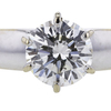 1.02 ct. Round Cut Bridal Set Ring #4