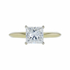 1.22 ct. Princess Cut Solitaire Ring, J, SI1 #3