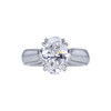 2.24 ct. Oval Cut Solitaire Ring, D, VS2 #4