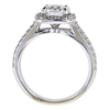1.01 ct. Round Cut Bridal Set Ring #2