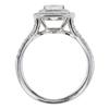 1.0 ct. TIFFANY & CO. TIFFANY SOLESTE® Cushion Cut double halo diamond engagement ring, F, VVS2 #2