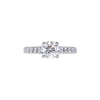 1.12 ct. Round Cut Solitaire Ring, F, SI2 #4