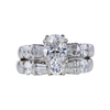1.51 ct. Oval Cut Bridal Set Ring, G, SI1 #3