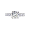 2.2 ct. Round Cut Solitaire Ring, L, SI1 #3