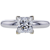 1.52 ct. Princess Cut Solitaire Ring #3
