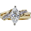 1.16 ct. Marquise Cut Solitaire Ring, G, SI2 #1