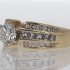 1.01 ct. Round Cut Central Cluster Ring #2