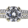 1.00 ct. Round Cut Solitaire Ring, I, SI2 #4