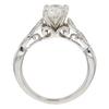 0.88 ct. Round Cut Bridal Set Ring, I, SI1 #4