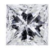 3.51 ct. Princess Cut Solitaire Ring #1