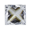 1.02 ct. Princess Cut Solitaire Ring, G, VS1 #2