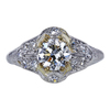 0.88 ct. Round Cut Solitaire Ring, J, VS1 #3