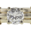 0.99 ct. Round Cut Solitaire Ring, J, SI1 #4