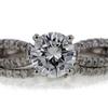 1.21 ct. Round Cut Bridal Set Ring #1
