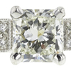 1.22 ct. Radiant Cut Ring, J, VS2 #4