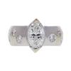 1.11 ct. Marquise Cut Ring, G, VS1 #3