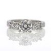 1.01 ct. Round Cut Solitaire Ring #4