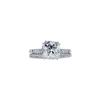 2.21 ct. Old Mine Cut Bridal Set Ring, I, SI2 #3