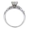0.85 ct. Round Cut Bridal Set Ring, I, SI2 #4