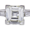 2.01 ct. Square Emerald Cut Solitaire Ring, J, VS2 #4