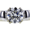 1.00 ct. Round Cut Bridal Set Ring, J, SI2 #4