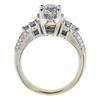 0.92 ct. Round Cut Bridal Set Ring, H-I, I1 #3