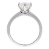 1.26 ct. Round Cut Bridal Set Tiffany & Co. Ring, F, VS1 #4
