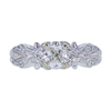 0.70 ct. Cushion Cut Solitaire Ring, H, VS2 #2