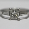 .87 ct. Princess Cut Solitaire Ring #2