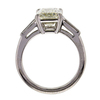 3.39 ct. Emerald Cut 3 Stone Ring #3