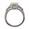 3.39 ct. Emerald Cut 3 Stone Ring #3
