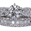 1.62 ct. Round Cut Bridal Set Ring #3