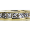 1.56 ct. Princess Cut Eternity Band Ring, H, VS2 #4