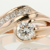 1.00 ct. Round Cut Right Hand Ring #1