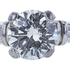 1.00 ct. Round Cut Bridal Set Ring, G, VS1 #4