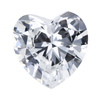 1.17 ct. Heart Cut Bridal Set Ring, F, VS2 #1
