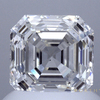 1.51 ct. Square Emerald Cut Halo Ring, I, VS2 #1