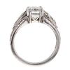 2.07 ct. Emerald Cut 3 Stone Ring #4