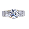 1.52 ct. Round Cut Solitaire Ring, E, VVS1 #3