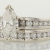 1.08 ct. Marquise Cut Bridal Set Ring #4