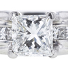 1.11 ct. Princess Cut Solitaire Ring, F, VS2 #4