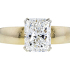 2.46 ct. Radiant Cut Solitaire Ring, H, SI1 #1