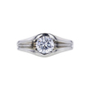 1.01 ct. Round Cut Solitaire Ring, H-I, VS1-VS2 #2