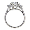1.00 ct. Oval Cut 3 Stone Ring #2