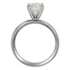 1.24 ct. Round Cut Bridal Set Ring, J, SI1 #4