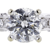 1.30 ct. Round Cut Bridal Set Ring #4